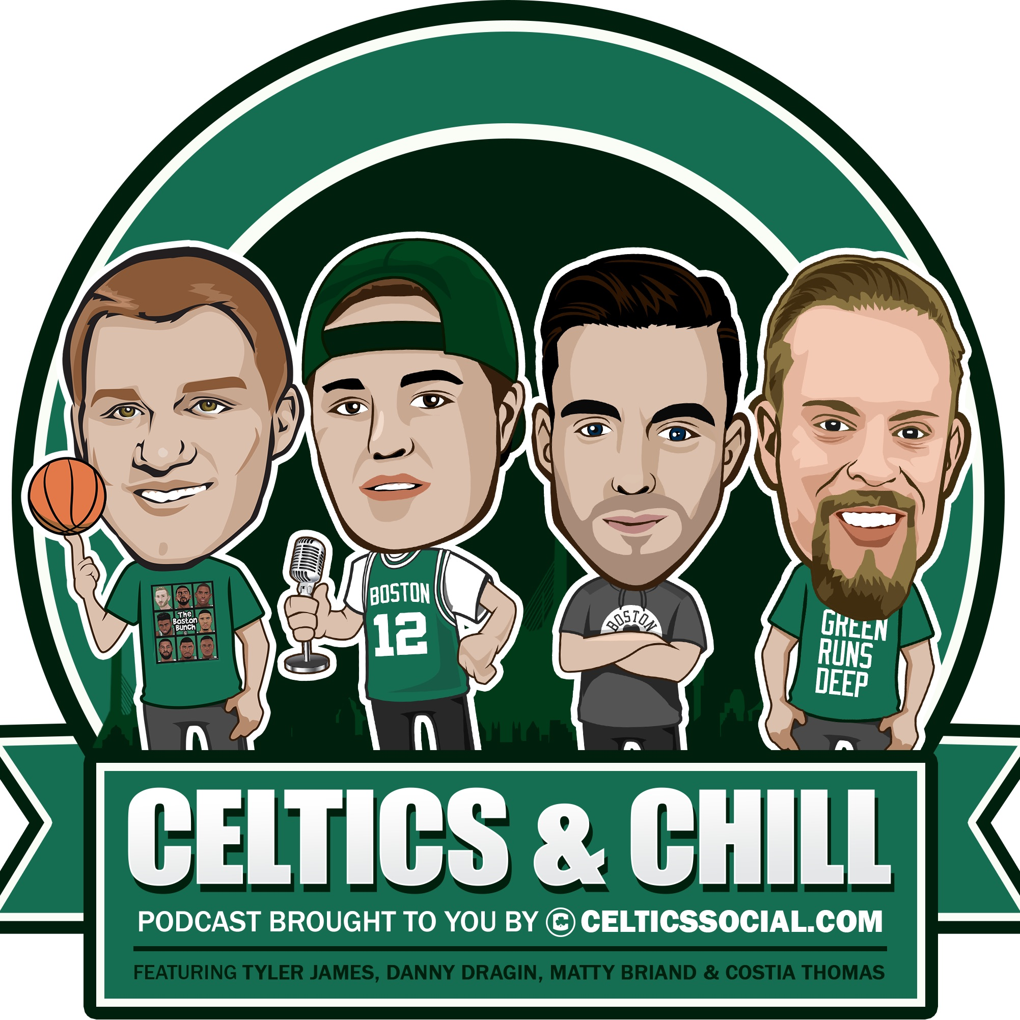 #22 - With Guest Adam Kaufman! The real possibility of LeBron in Boston, Kyrie's Future & much more!
