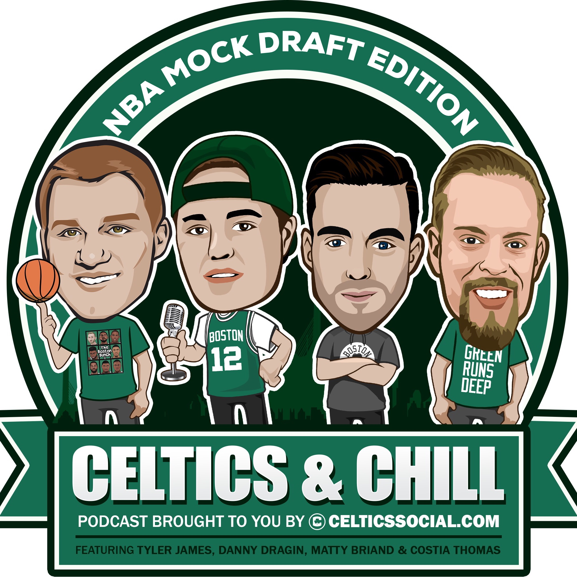 #23 - Special NBA Mock Draft 1.0 Edition With Bonus Boston Celtics Trade Up Prediction!