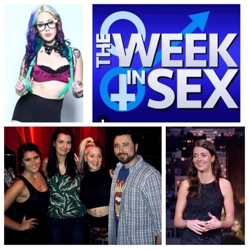 The Week In Sex - S3 E24 Hotel Sex/Period Blanket/Tall Sex with Shorties/Guests: Carmen Lynch and Lindsey Jennngs
