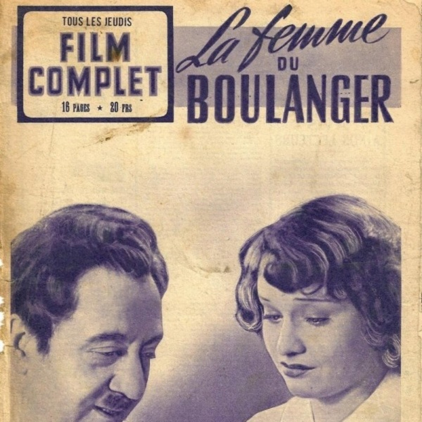 PODCAST CINEMA | critique du film LA FEMME DU BOULANGER | CinéMaRadio