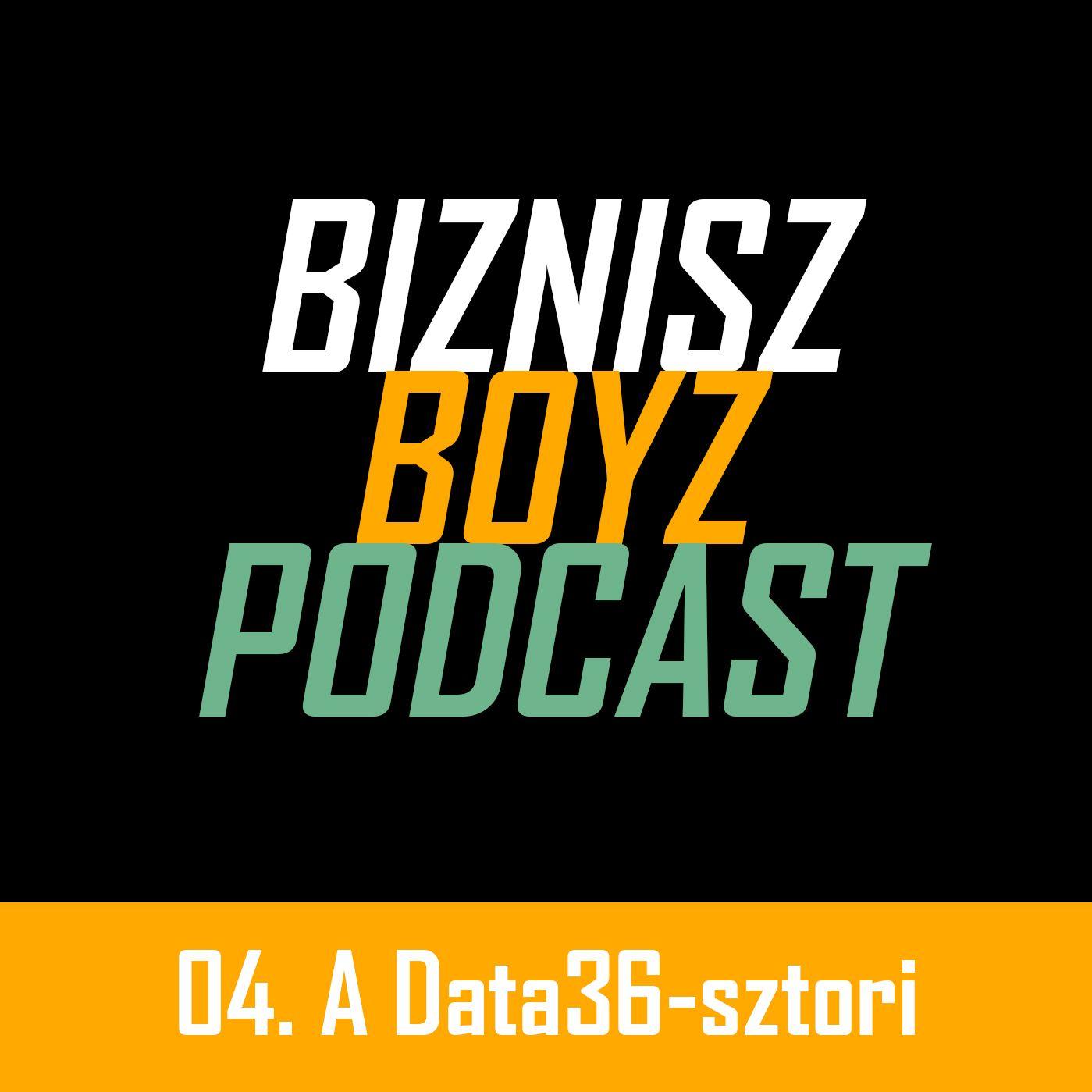 4. Online oktatás, videókurzus-készítés Data Science témában: a Data36-sztori | Biznisz Boyz Podcast