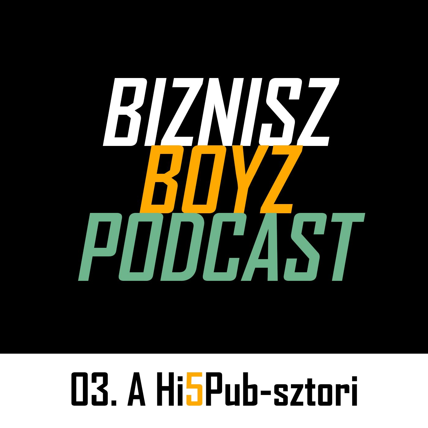 3. Csukafejes a vendéglátóiparba - A Hi5Pub-sztori | Biznisz Boyz