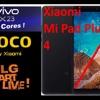 """Xiaomi Mi pad Plus 4 10"""", poco France et Vivo X23 10Gb Ram, GLG part en live du 14 Aout"""