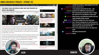 Episode 163 WoW vs FFXIV, MS2, Ashes of Creation, & More by MMOs com