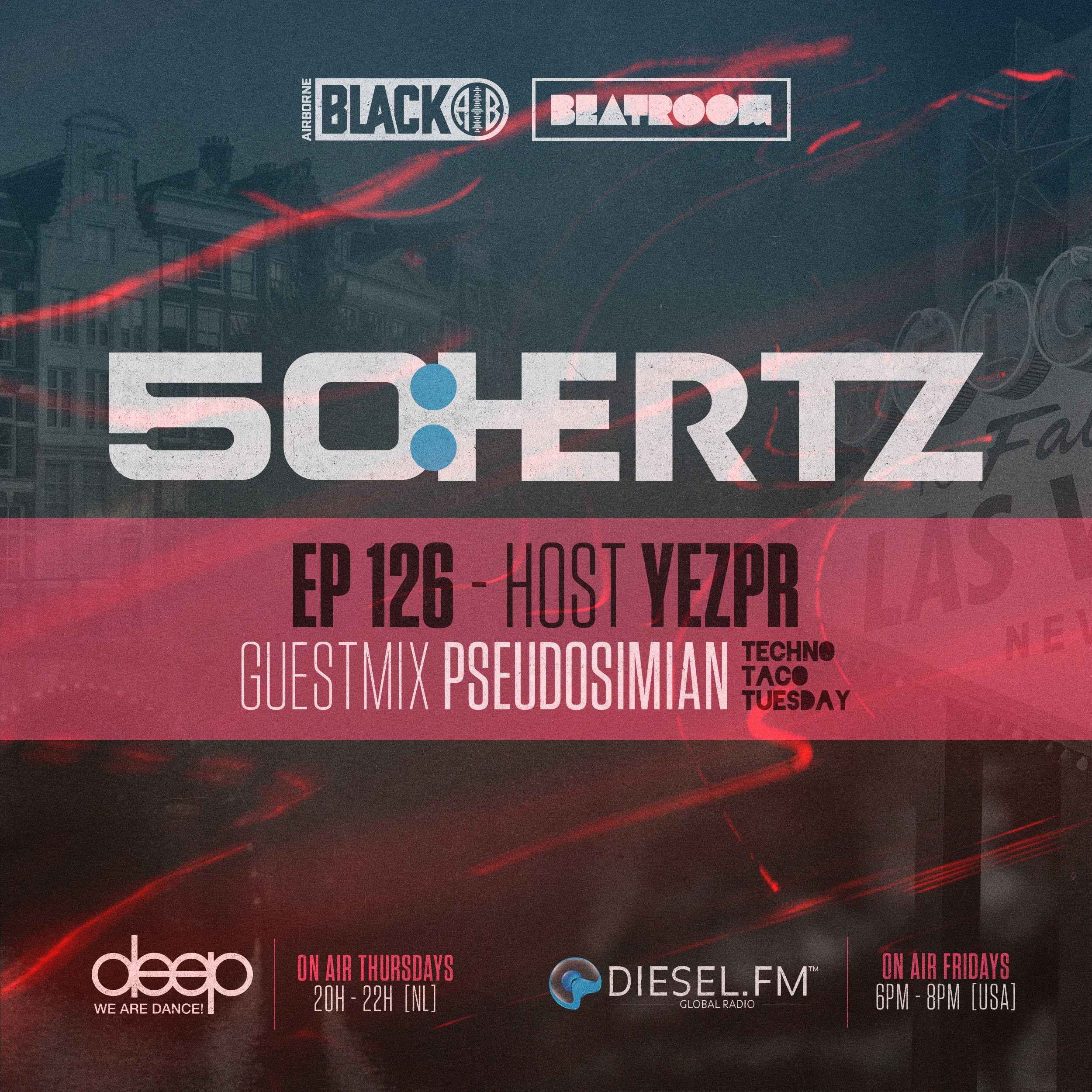 f39bc87c1f6 50:HERTZ #126 Host: YEZPR / Guest: PSEUDOSIMIAN (Diesel FM & Deep Radio)