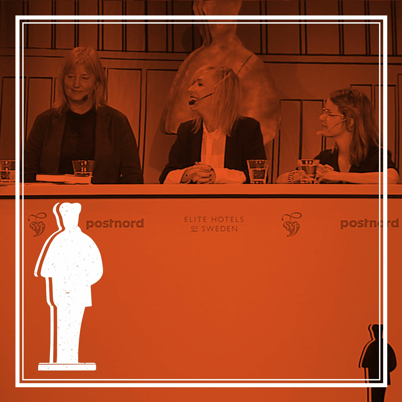 2018:3 Augustpodden - Emma AdBåge, Jenny Jägerfeld och Karin Smirnoff
