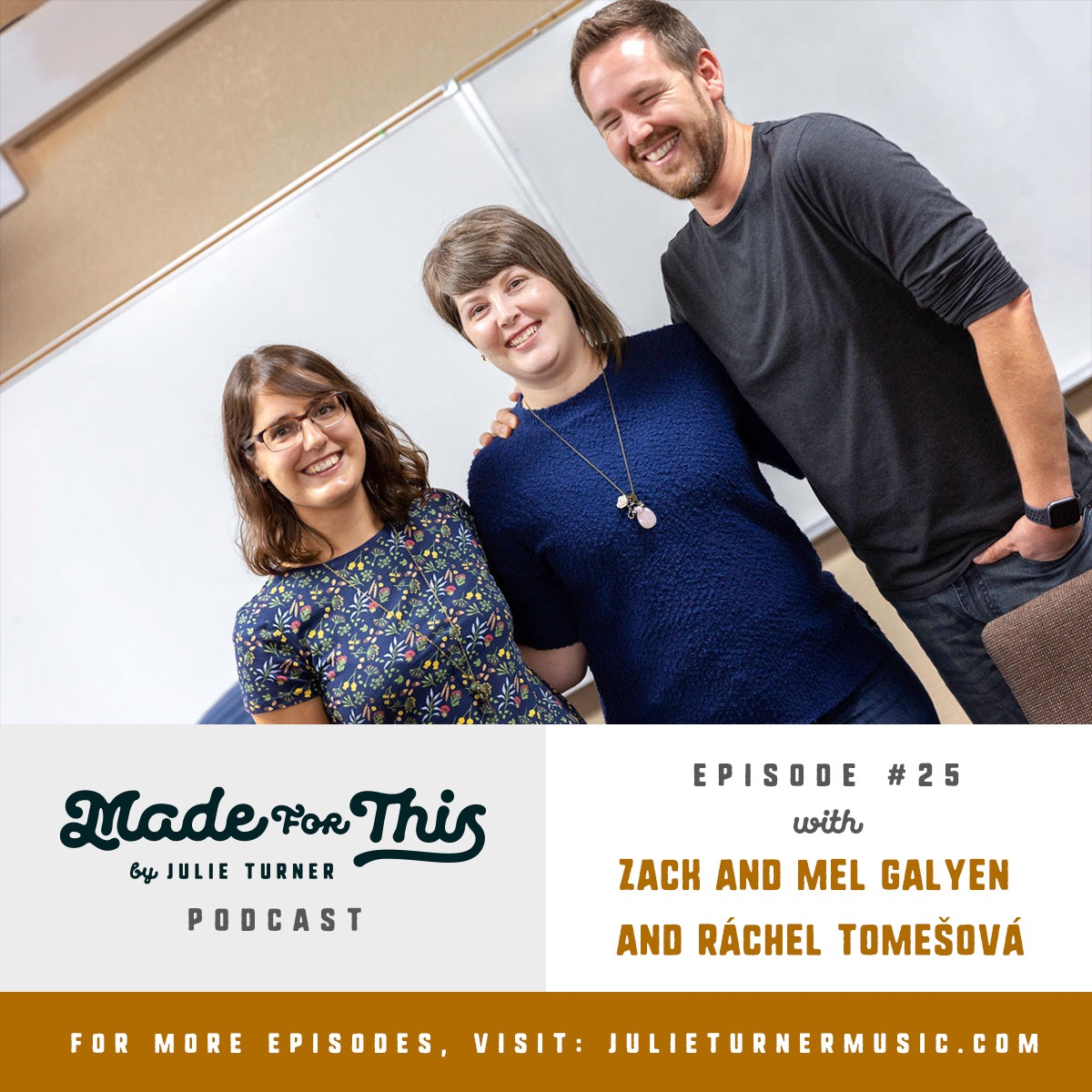 Made For This Podcast-Episode 25: Zack and Mel Galyen