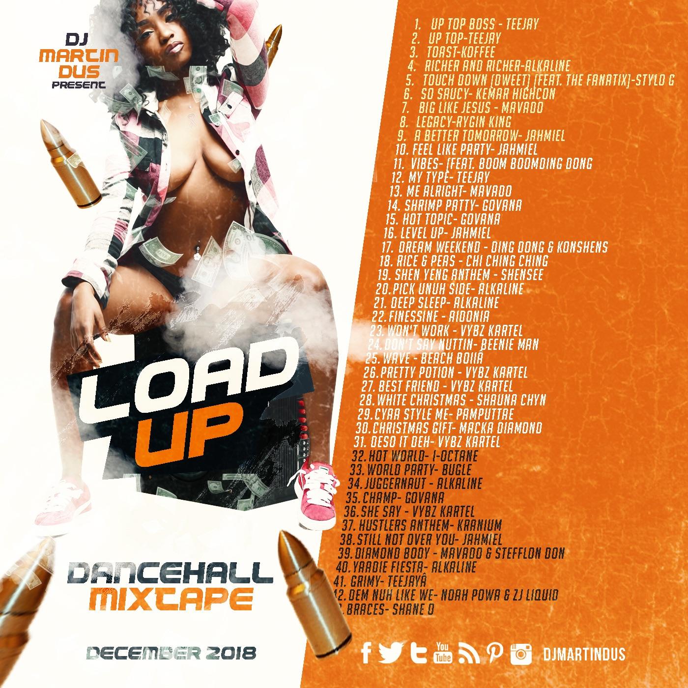 Load UP - Dancehall Mixtape [Dec 2018] Clean