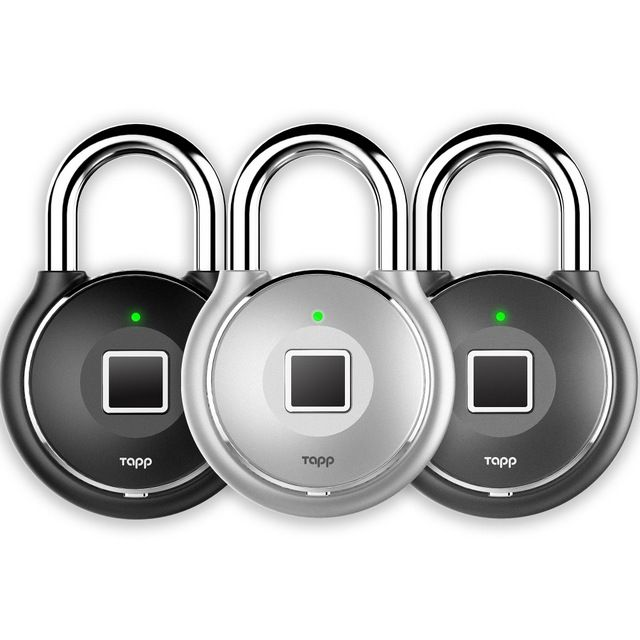 Tapplock grows line of smart fingerprint padlocks by