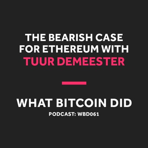0650f32b215 We talk about his recent Tweetstorm breaking down why he is so against  Ethereum, discussing everything from proof of stake to reckless security.
