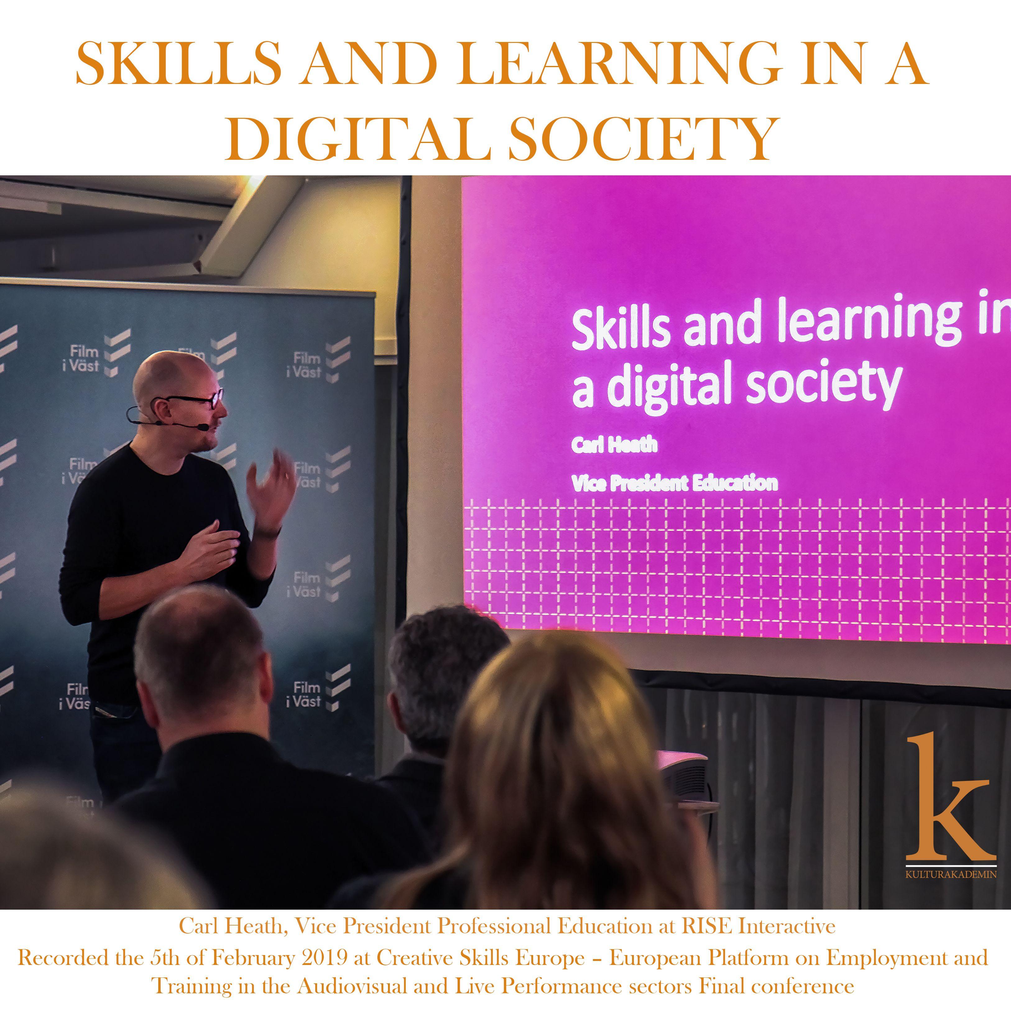 84 Carl Heath - Skills and Learning in a Digital Society (LIVE: 2019