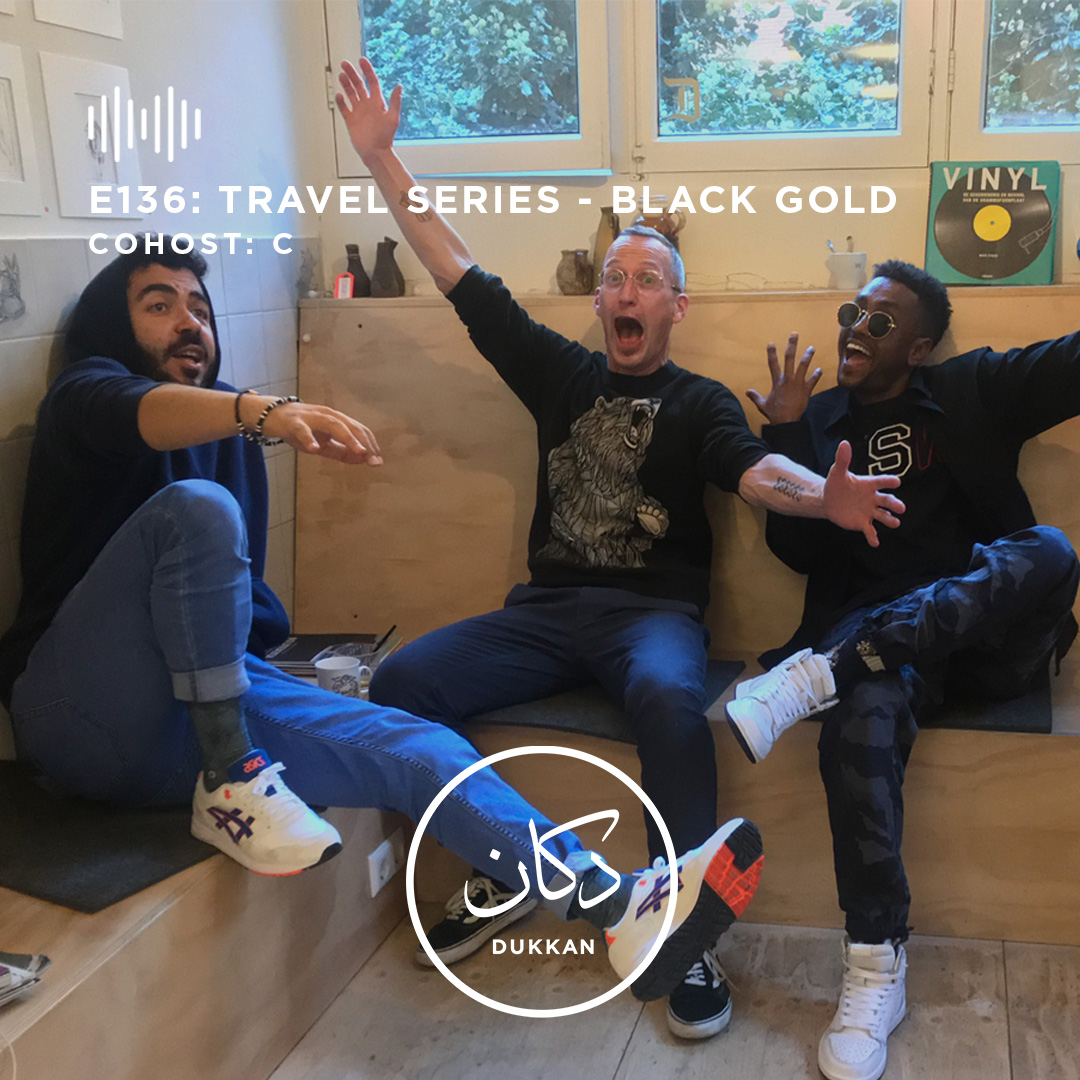 E136: Travel Series (Cohost: C From Black Gold)