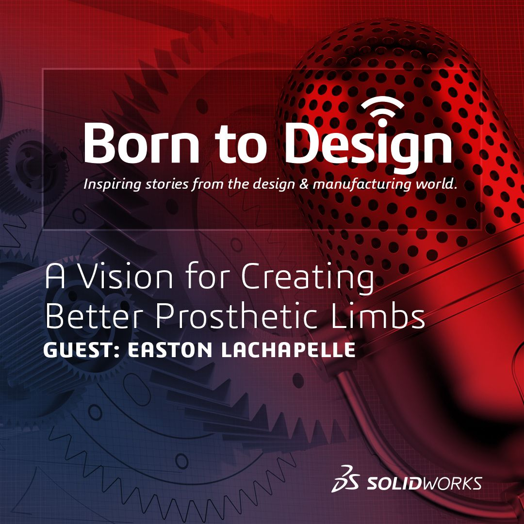 A vision for creating better Prosthetics with Easton LaChappelle - Ep8