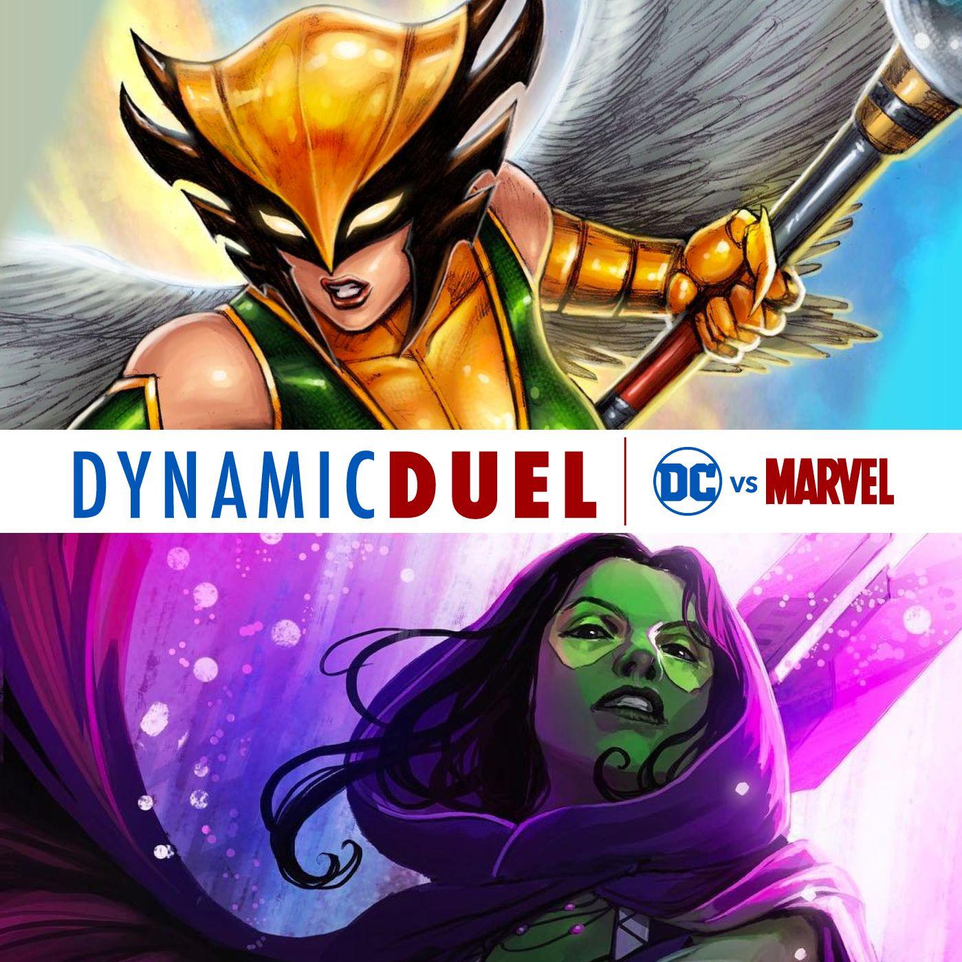 Hawkgirl vs Gamora