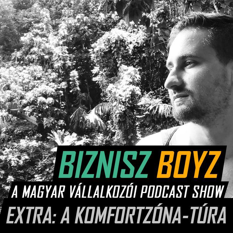 Extra - Utazás a komfortzónán túlra - Bali élménybeszámoló Aditól | Biznisz Boyz Podcast