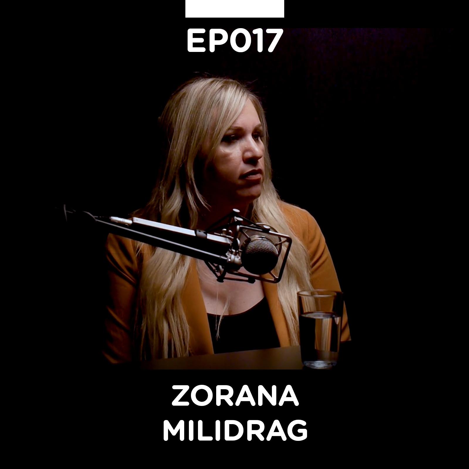 EP 017: Zorana Milidrag - Pojačalo podcast
