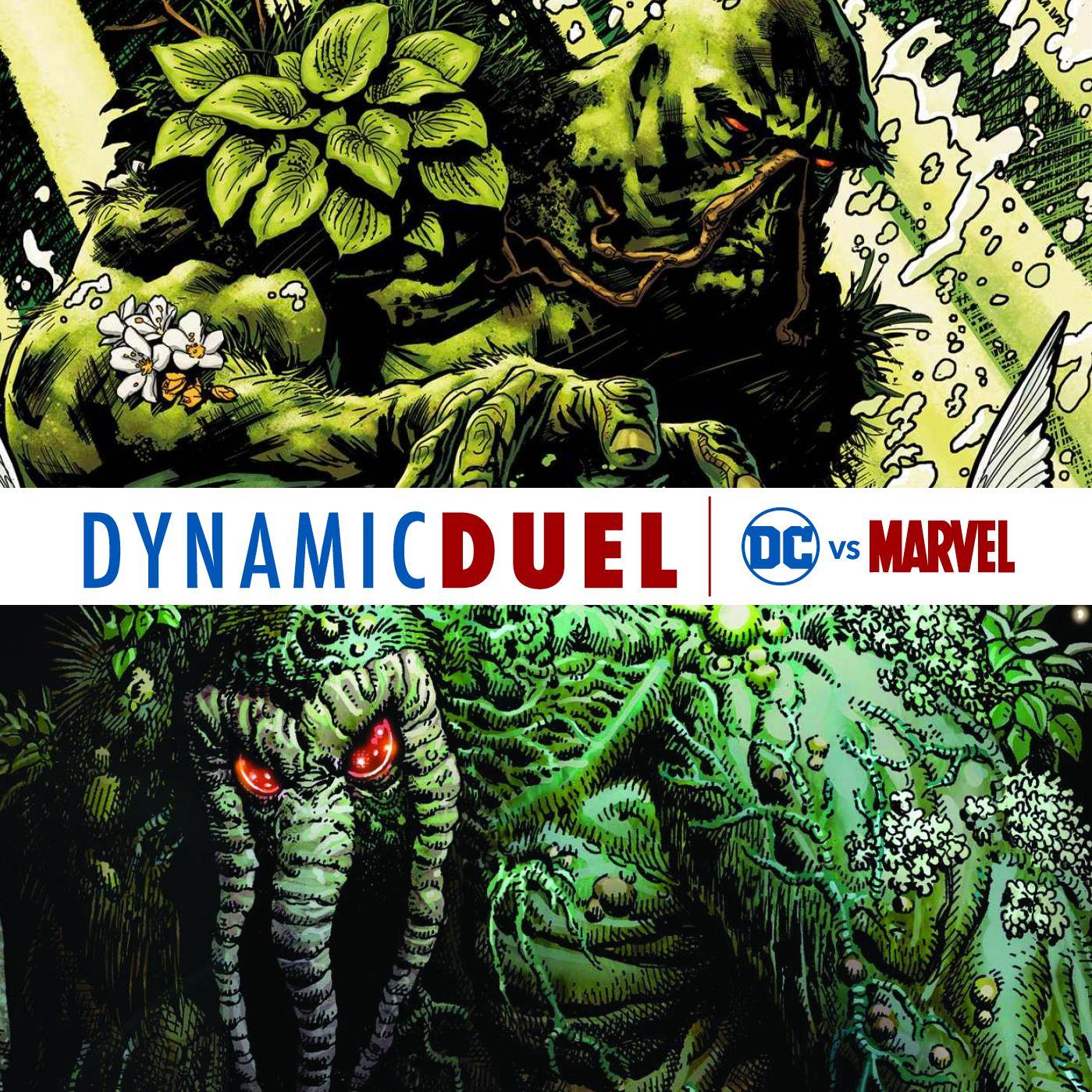 Swamp Thing vs Man-Thing