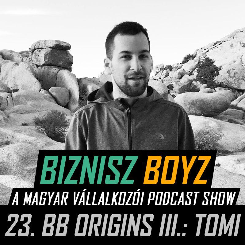 23. BB Origins III.: Tomi útja a Data Science oktatásig - avagy a jó helyen ellőtt félmondatok ereje