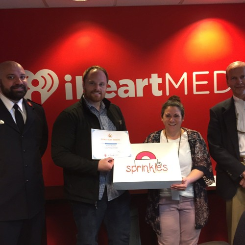 Aly SNX Blog - The Salvation Army presents us with the Donut Day Award