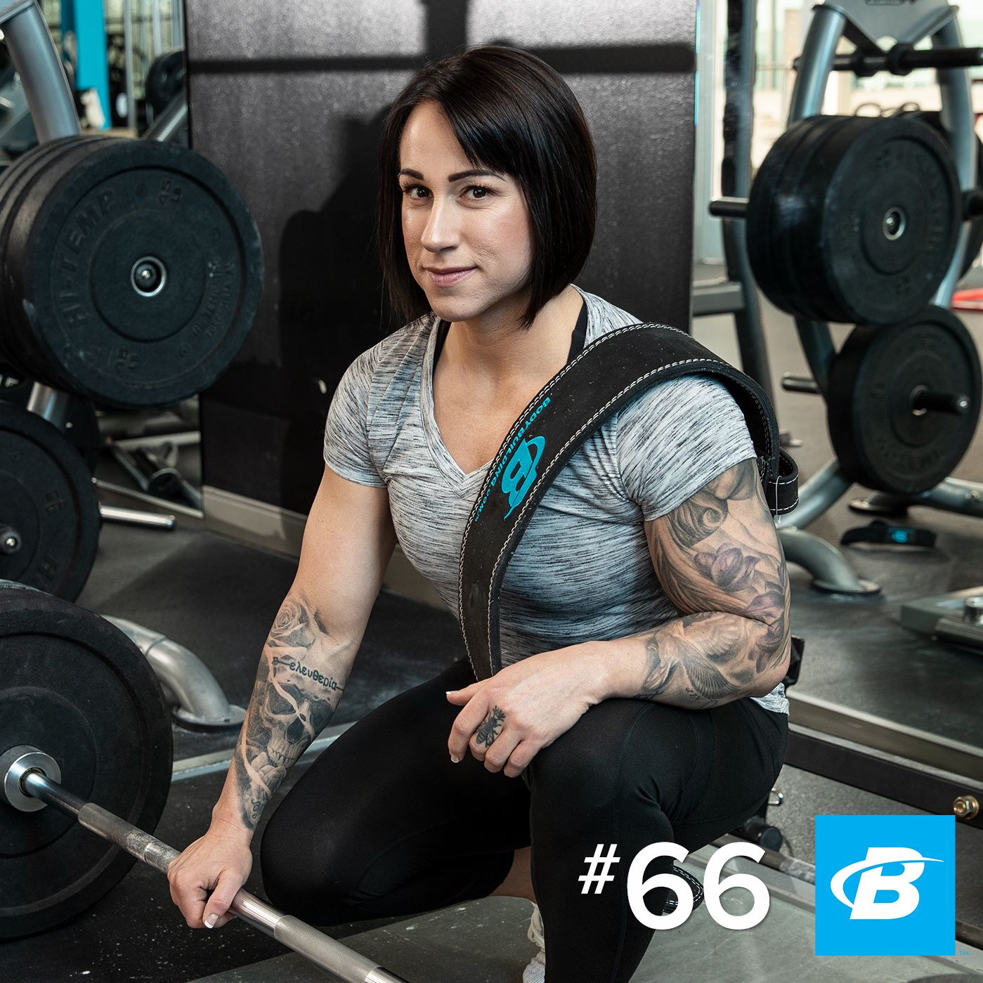 Episode 66: Laura Phelps - ''If You Let Me Lift, I Will