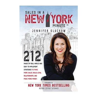 Podcast 723: Sales in a New York Minute™ with Jennifer Gluckow