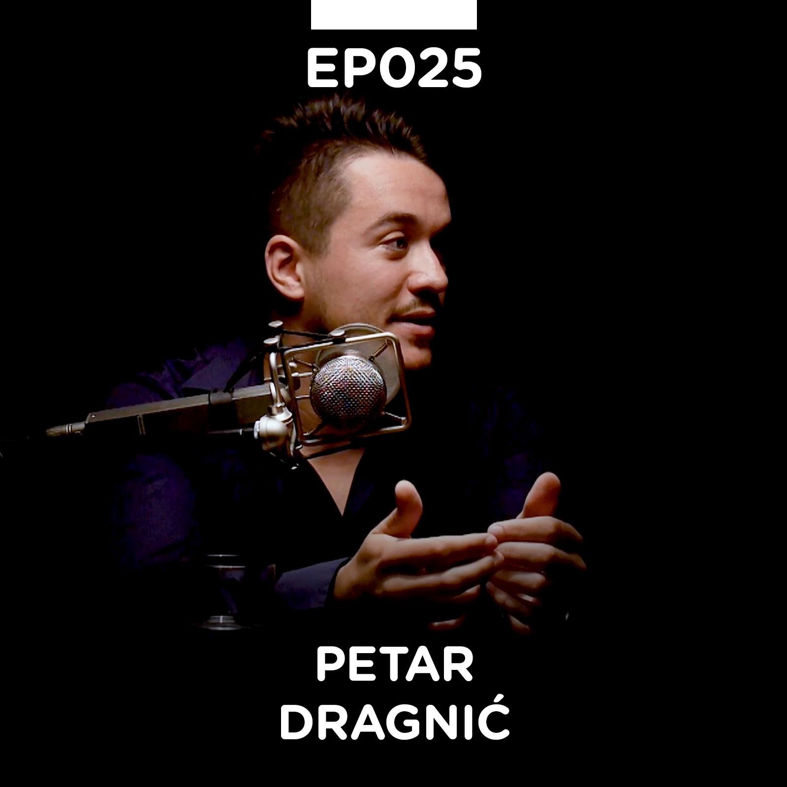 EP 025: Petar Dragnić - Pojačalo podcast