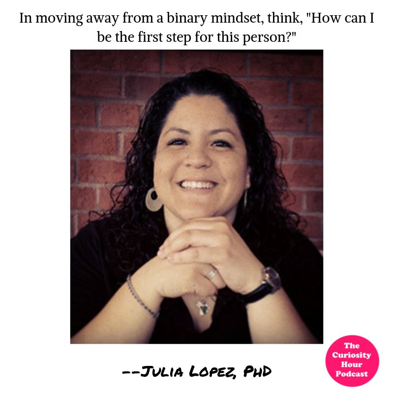Episode 111 - Julia López, PhD (The Curiosity Hour Podcast by Tommy Estlund and Dan Sterenchuk)
