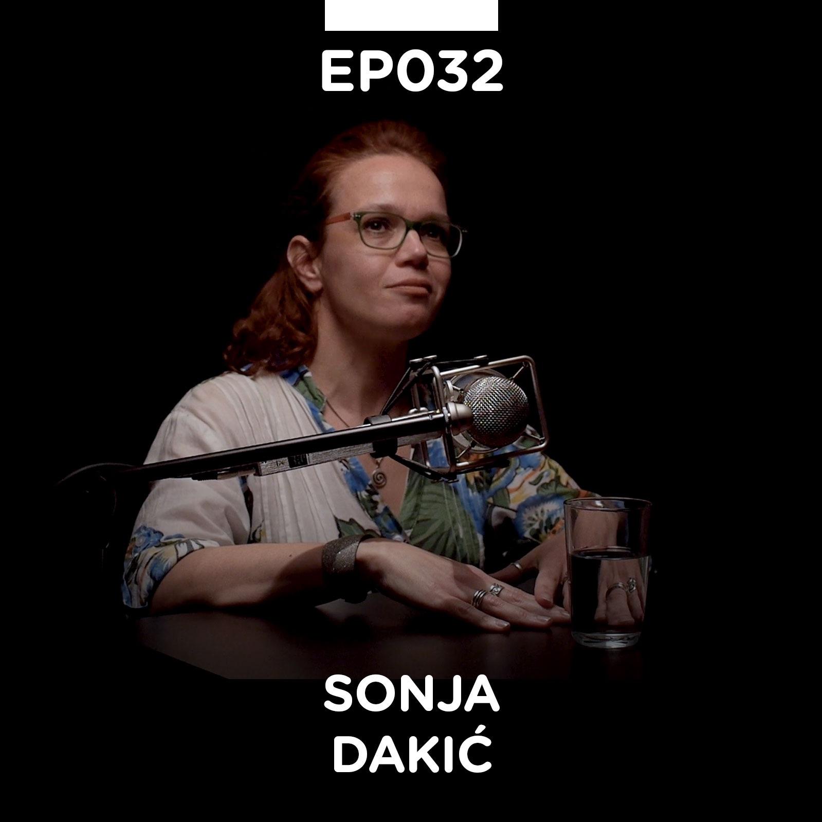 EP 032: Sonja Dakić - Pojačalo podcast