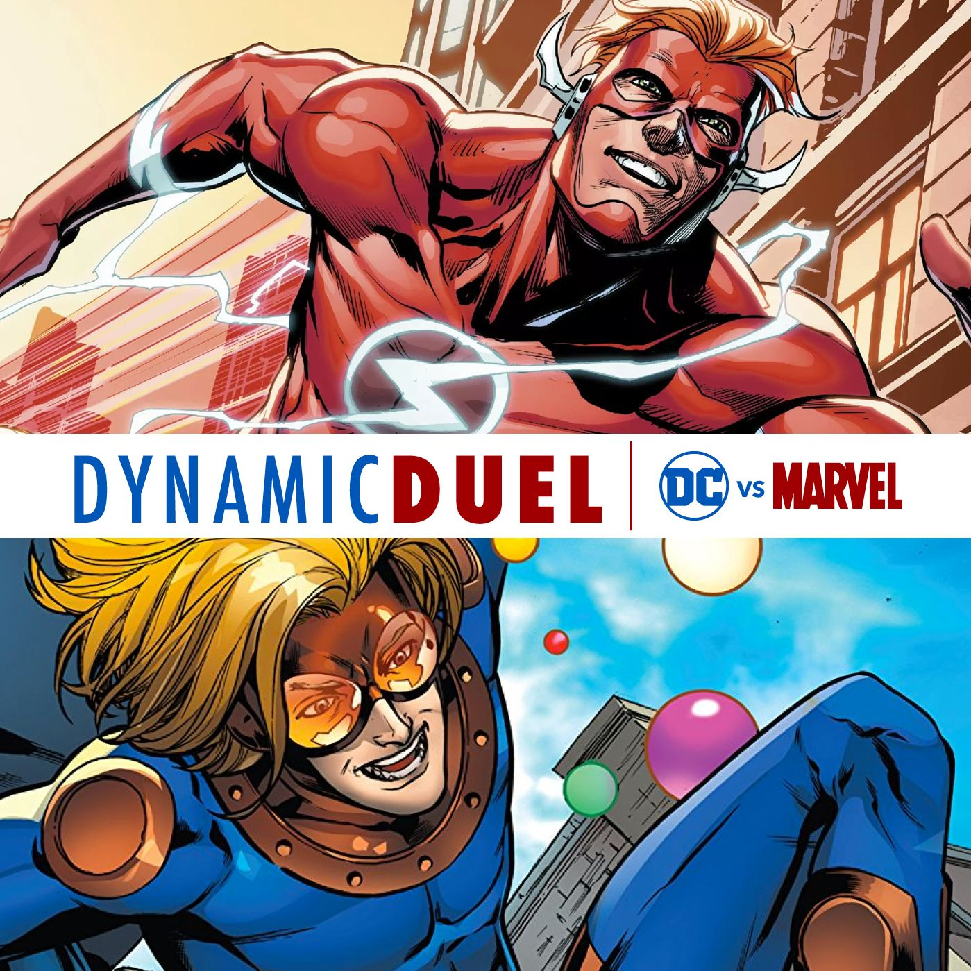 The Flash (Wally West) vs Speedball
