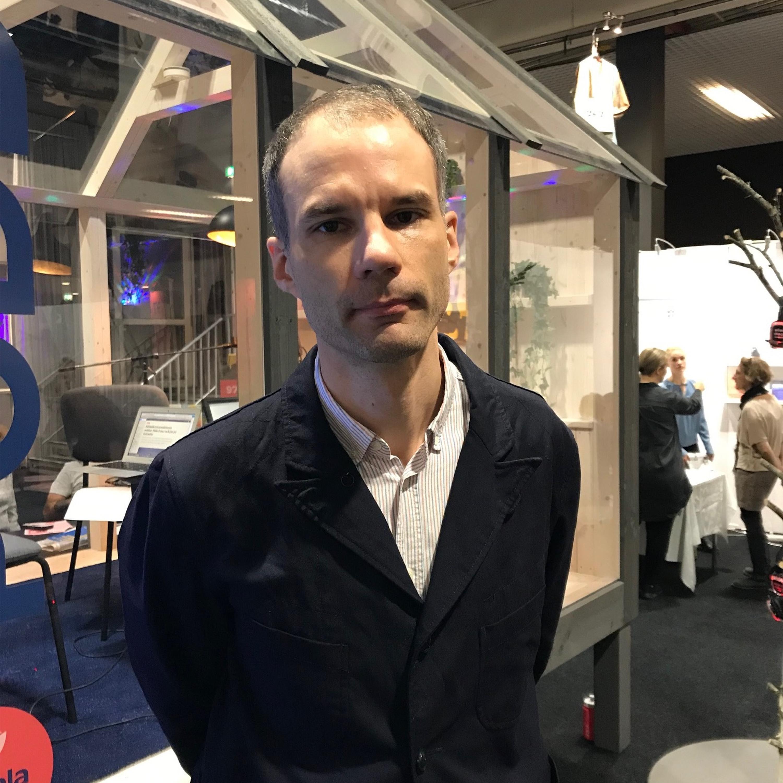 Globalpodden på Bokmässan - Jonas Cullberg