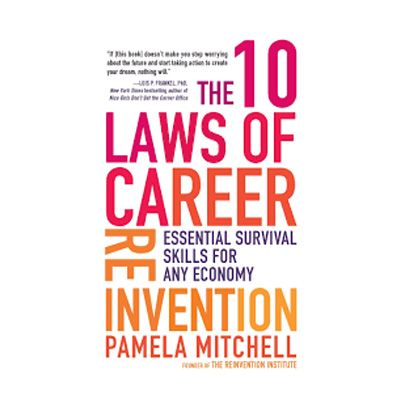 Podcast 746: The 10 Laws of Career Reinvention with Pamela Mitchell