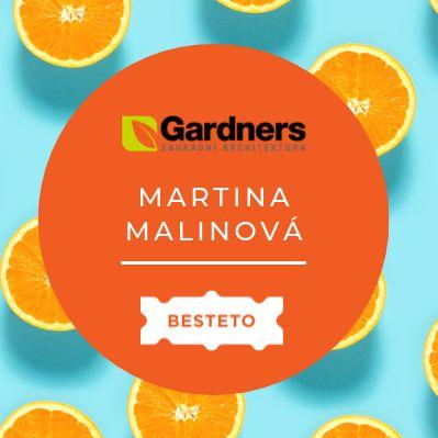 Podcast Martina Malinová (Gardners)