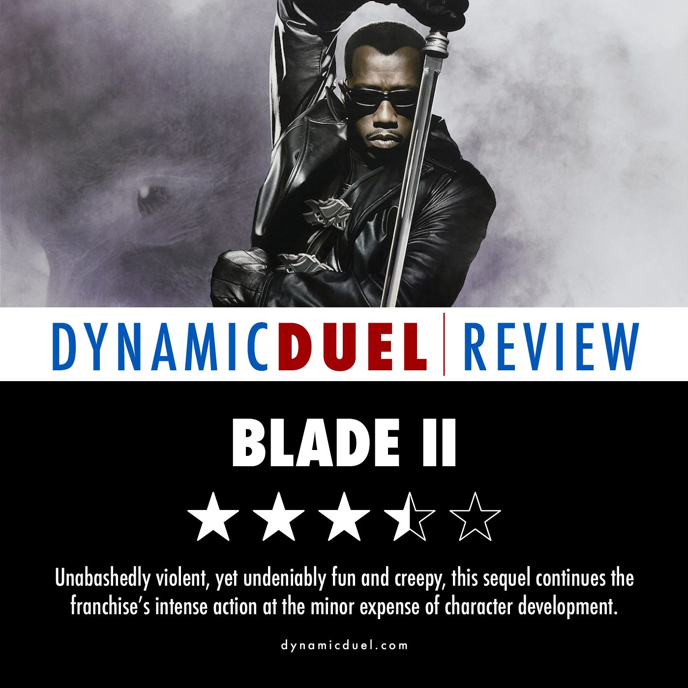 Blade II Review - Sponsored by Three Tales: Pages of Terror