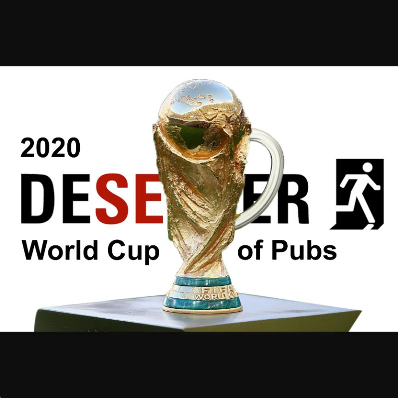 2020 Deserter World Cup Of Pubs