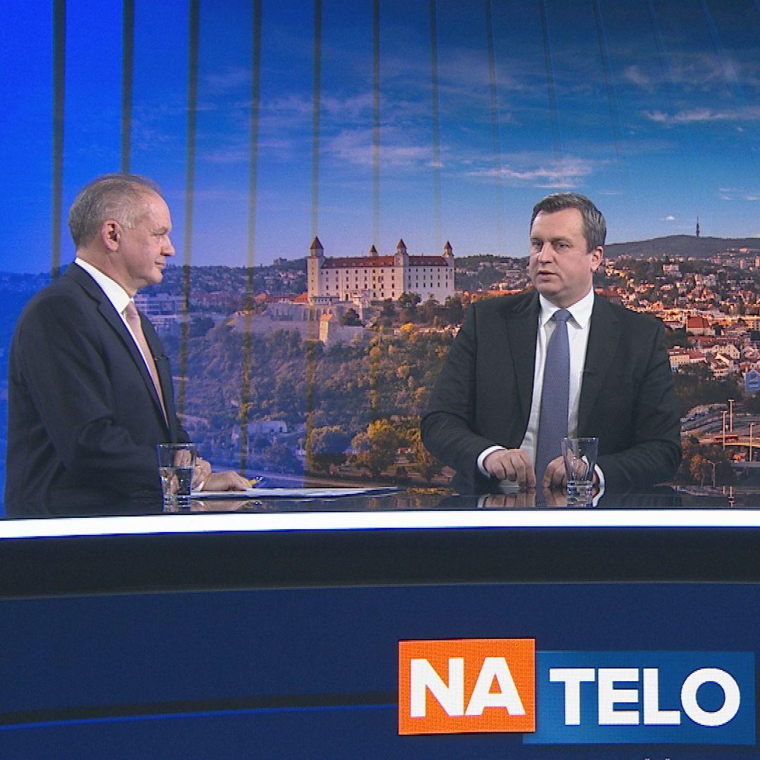 Andrej Kiska a Andrej Danko,  (19. 1.)