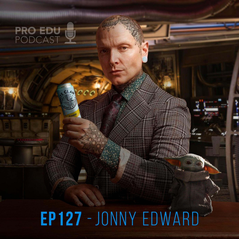 Jonny Edward - Episode 127 The PRO EDU Photography & Retouching Podcast