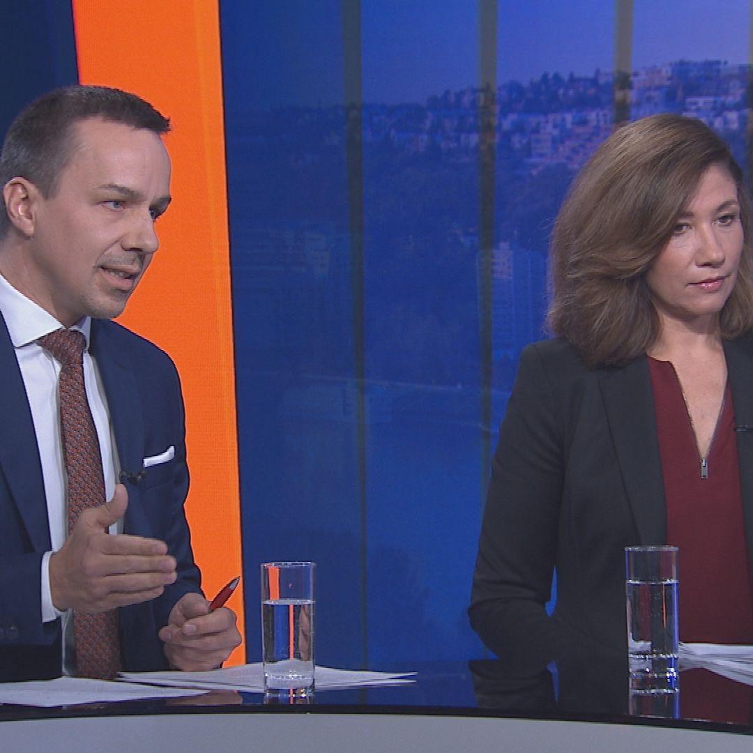 Erik Tomáš a Lucia Ďuriš Nicholsonová (16.2. 2020)