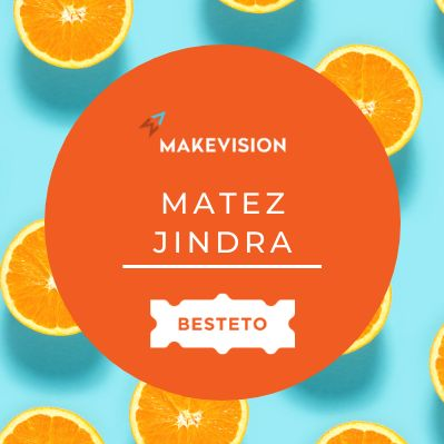 O zákaznickém průzkumu s Matezem Jindrou (Makevision)