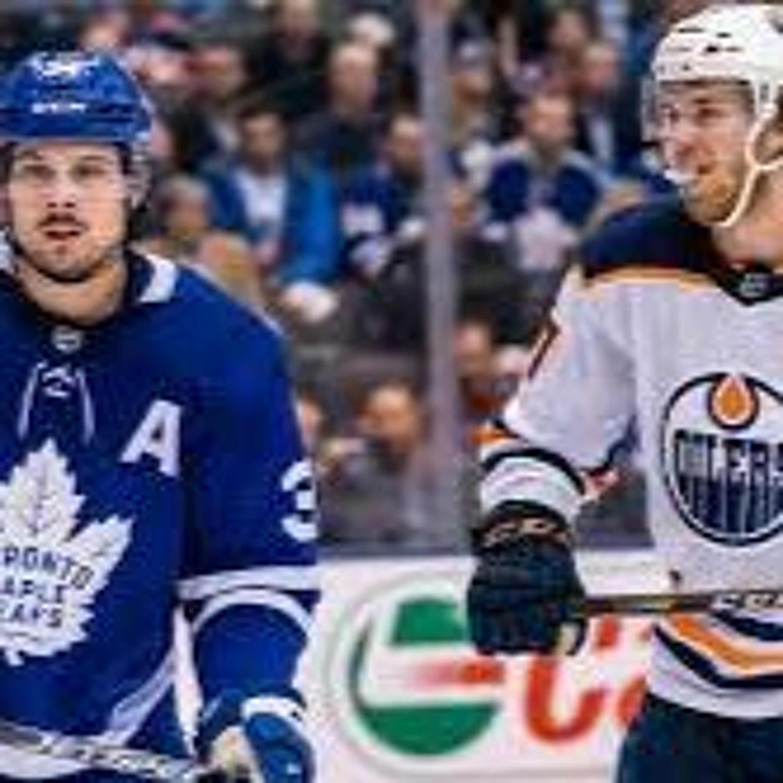 "The Cult of Hockey's ""Matthews vs McDavid for MVP"" podcast"