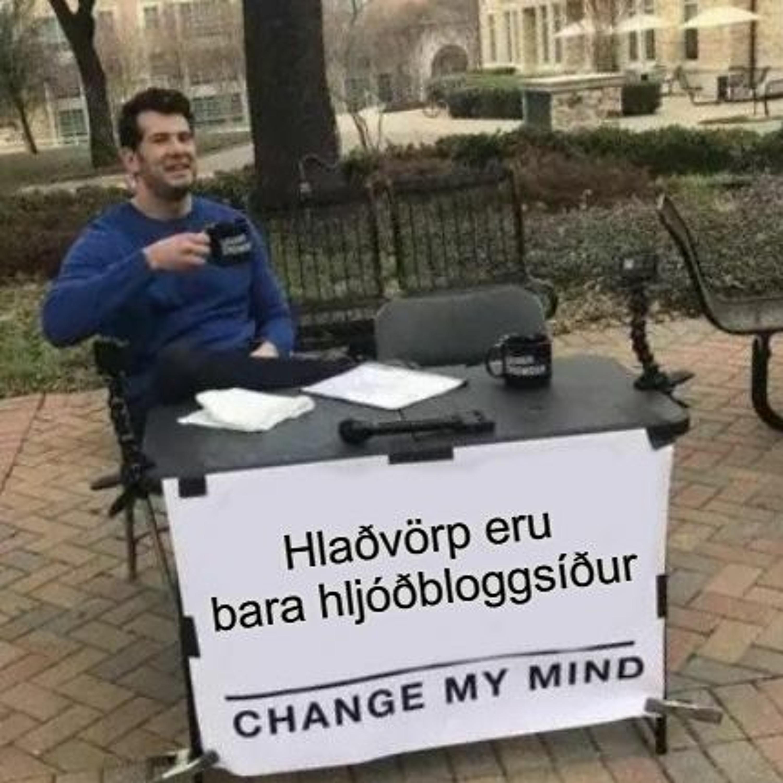 The Gang Gets Cancelled - Hljóðbloggsíðan Podcastið Hlaðvarp