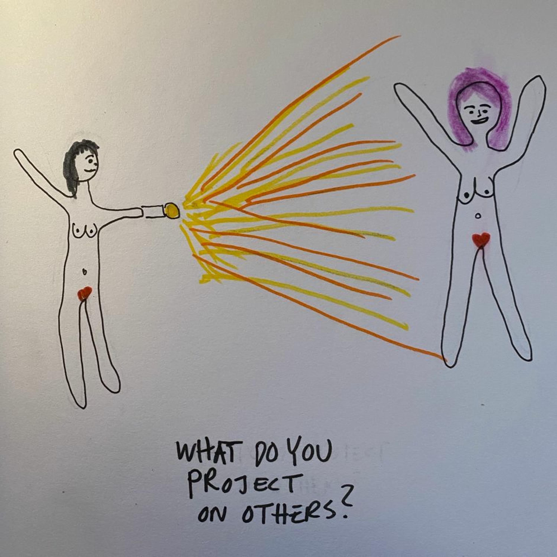 54. Projektioner: att se ditt ljus eller mörker i andra