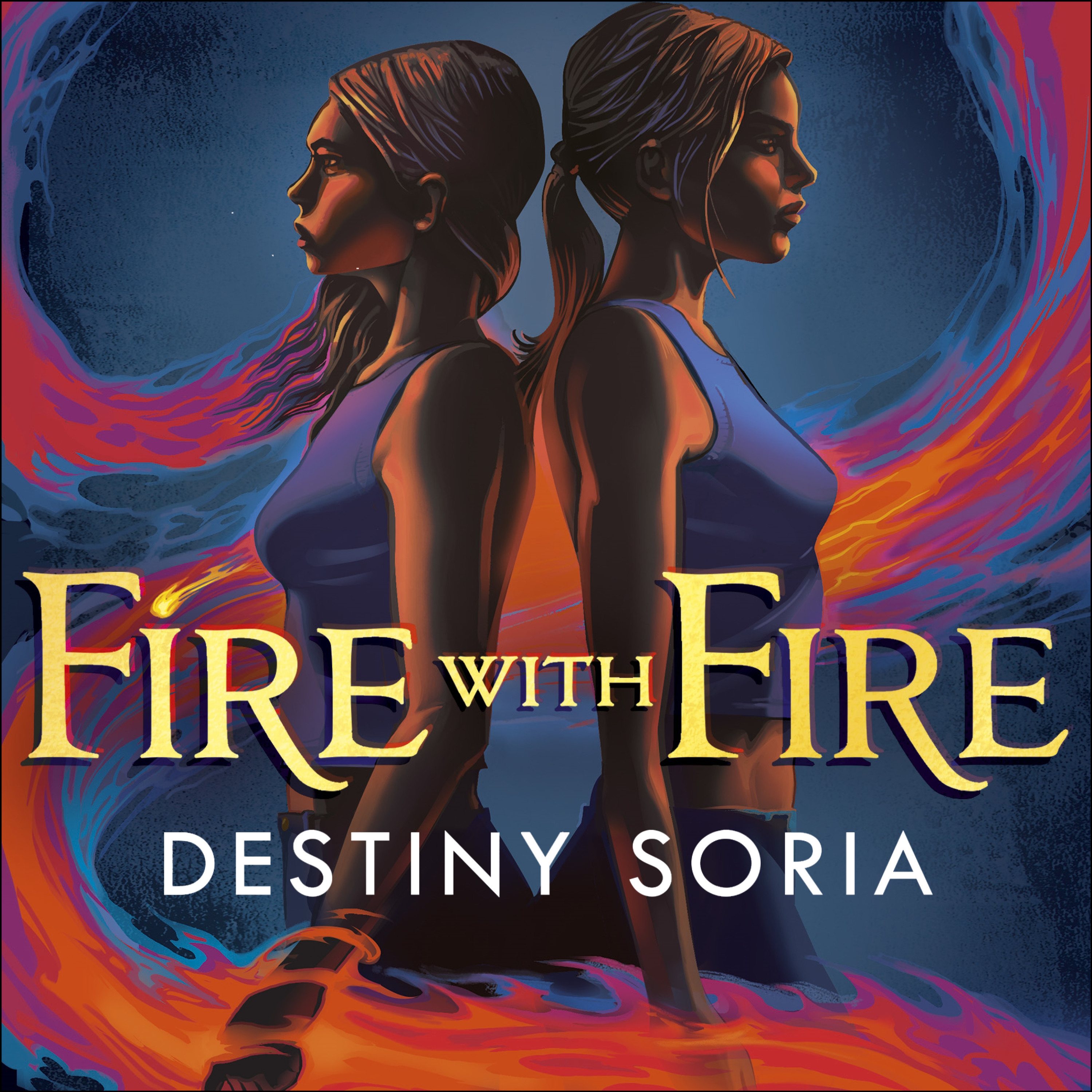 FIRE WITH FIRE by Destiny Soria, read by Mari Liatis - audiobook extract