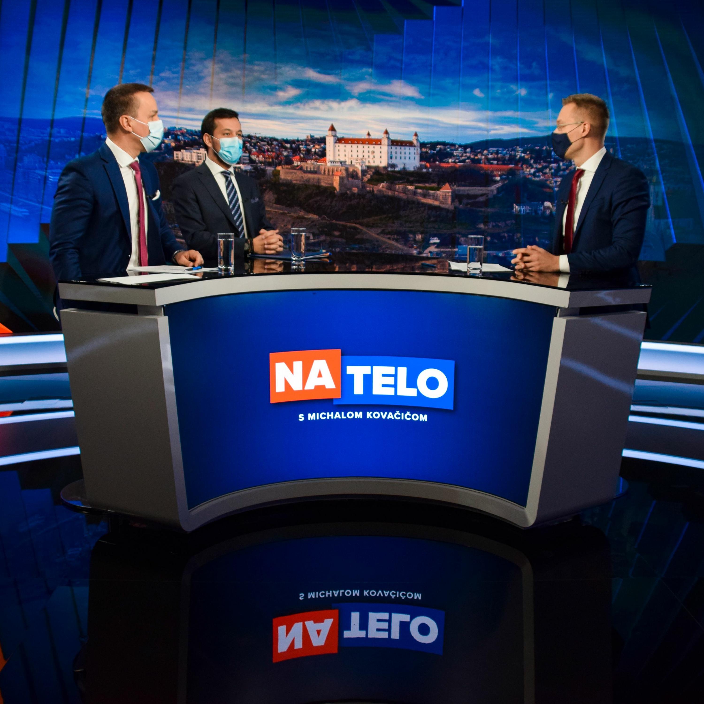 Juraj Šeliga (Za ľudí) a Erik Tomáš (Hlas-SD)