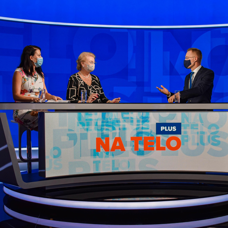 Na telo plus: Jana Bittó Cigániková (SaS) a Anna Záborská (OĽaNO)