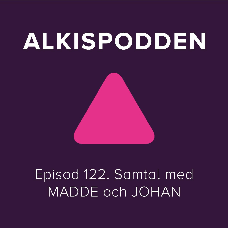 Episod 122. Samtal med MADDE och JOHAN