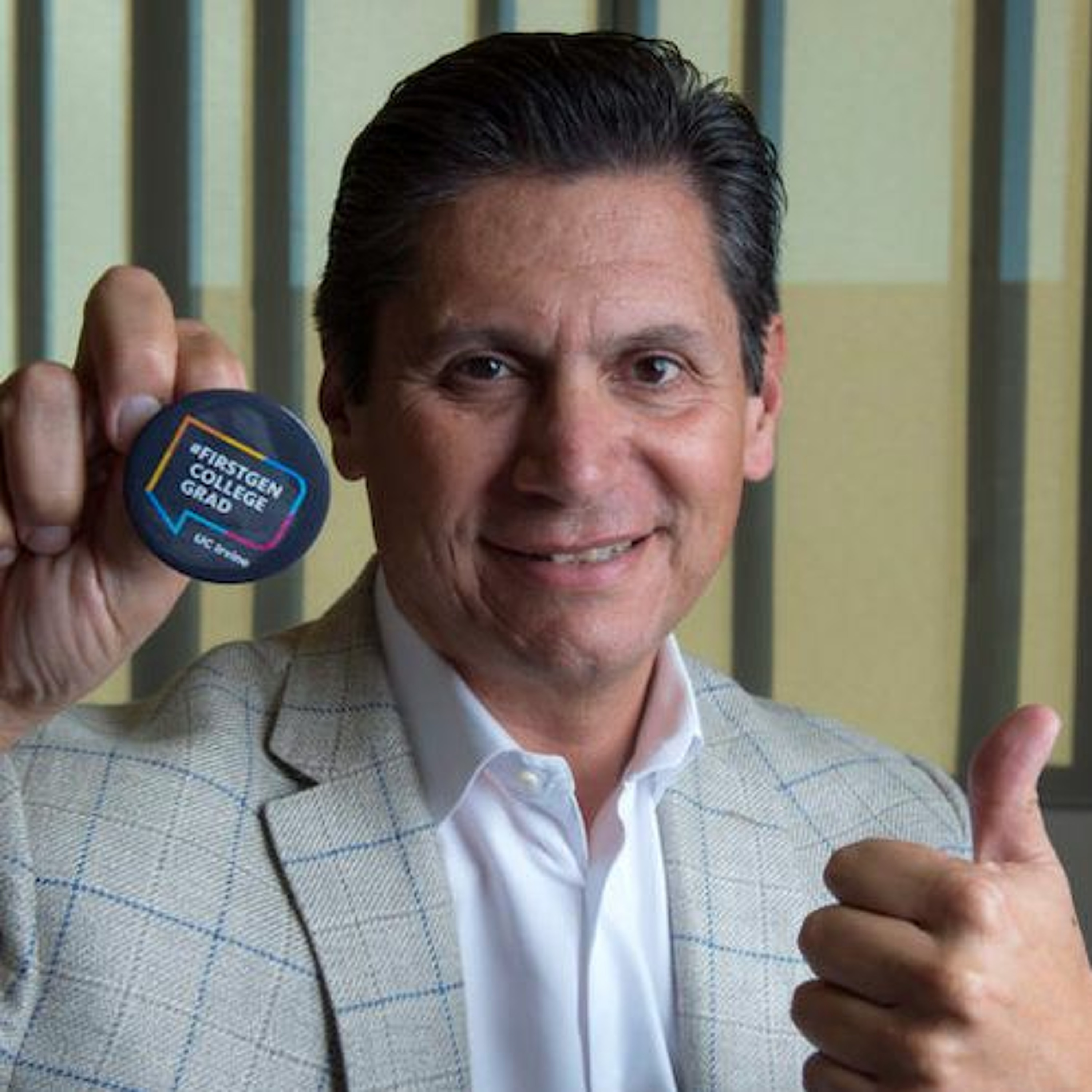 UCI Podcast: Eloy Ortiz Oakley ensures access for first generation students