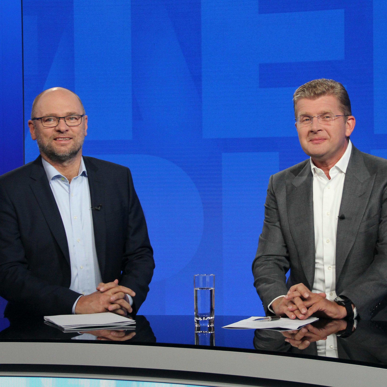 Richard Sulík (SaS) a Peter Žiga (Hlas)