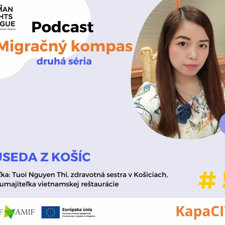 Podcast Migračný kompas: Suseda z Košíc