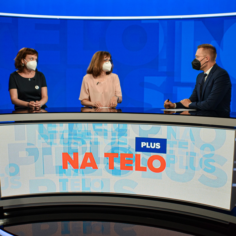 Na telo plus: Zuzana Petková a Lucia Žitňanská
