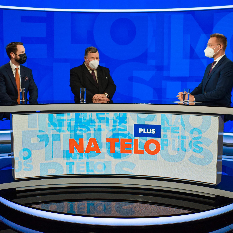 Na telo plus: Peter Sabaka a Vladimír Krčméry